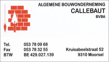 Algemene bouwonderneming Callebaut
