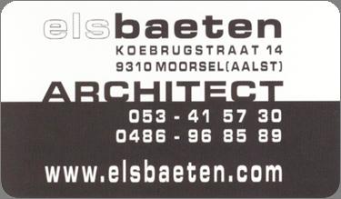 Els Baeten architect